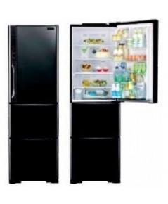 Hitachi Refrigerator ตู้เย็น 3 ประตู ฮิตาชิ R-SG38FPTH Solfege Glass