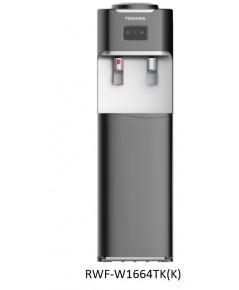 Toshiba ตู้กดน้ำดื่ม ร้อน เย็น Hot Cool Water Dispenser RWF-1664TK(K) ไม่ได้แถมถังน้ำ