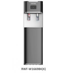 Toshiba ตู้กดน้ำดื่ม ร้อน เย็น Hot Cool Water Dispenser RWF-1669BK(K) ไม่ได้แถมถังน้ำ