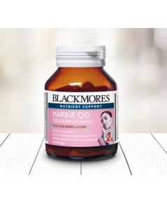 Blackmores Marine Q10 Collagen Advance 60 softgels แบลคมอร์ส มารีน คิวเทน คอลลาเจน แอดวานซ์