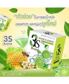 3S เครื่องดื่มรสน้ำผึ้งมะนาวผสมคอลลาเจน อิ่มง่าย ลดการอยากอาหาร เร่งเผาผลาญ พุงยุบ เพียวกระชับ
