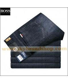 กางเกงยีนส์ Boss Jeans New Business Trousers Denim Straight Leg Jeans Figure ไซต์ 29 ถึง 42 ตลิก..