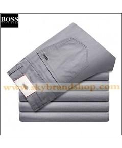 กางเกงยีนส์ Boss Jeans New Business Trousers Cotton Straight Leg Jeans Figure ไซต์ 29 ถึง 42 ตลิก..