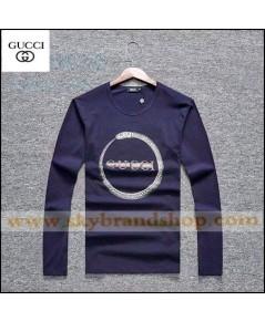 เสื้อยืดคอกลม Gucci Italy Sleeve T-Shirt Long Sleeve Original Contton Straight Size M-2XL คลิก..