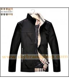 เสื้อแจ็คเก็ต Burberry Jacket Slim Spring Dress Thin Stand Collar Size M-3XL คลิก..