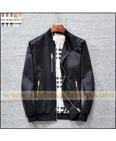 เสื้อแจ็คเก็ต Burberry Jacket Slim Spring Dress Thin Stand Collar Size M-2XL คลิก..