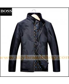 เสื้อแจ็คเก็ต Boss Jacket Slim Spring Dress Thin Stand Collar Size M-3XL คลิก..