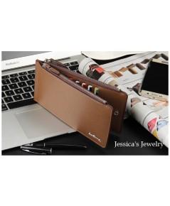 กระเป๋าสตางค์เอนกประสงค์ เก็บบัตรได้ 16 ใบ เก็บโทรศัพท์มือถือ เก็บธนบัตรได้ ใน 1เดียว