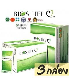 Bios Life C ไบออสไลฟ์ ซี เสริมสร้างและ บำรุงร่างกายป้องกันโรคหัวใจ 3 กล่องๆละ 2000 เป็นเงิน 6000 บาท