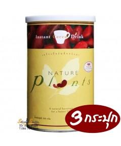 NATURE PLANTS เนเจอร์ แพล็นท์ เนเจอร์แพล็นท์ ชีวจิตโปรตีนพร้อมดื่ม 3กระปุกๆละ 750 เป็นเงิน 2250 บาท