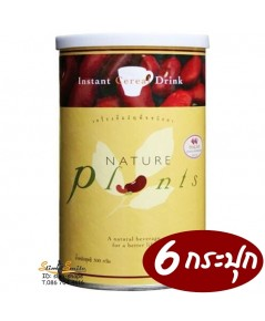NATURE PLANTS เนเจอร์ แพล็นท์ เนเจอร์แพล็นท์ ชีวจิตโปรตีนพร้อมดื่ม 6กระปุกๆละ 700 เป็นเงิน 4200 บาท