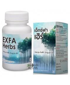 Exfa Herb เอ็กซ์ฟา เฮิร์บ ฟื้นฟู บำรุงร่างกาย ต้านอนุมูลอิสระ ยับยั้งเชื้อรา ต้านไวรัส และแบคทีเรีย