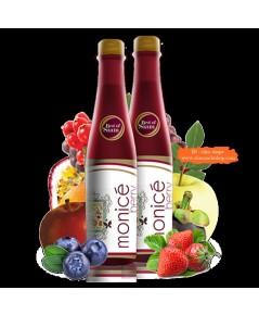 Monicé Berry โมไนซ์เซ่ เบอร์รี่ น้ำผลไม้สกัดเข้มข้น กระเพาะปัสสาวะอักเสบ ยับยั้งการท้องเสีย