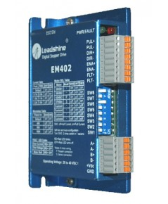 EM402 - Advanced Digital Stepper Drive with Stall Detection; Max 40 VDC / 4.2A