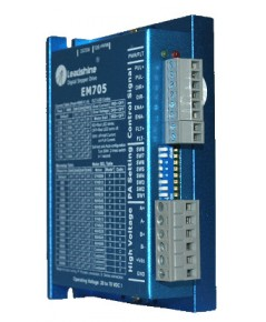 EM705 - Advanced Digital Stepper Drive with Stall Detection; Max 70 VDC / 7.0A