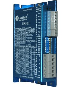 EM503 - Advanced Digital Stepper Drive with Stall Detection; Max 50 VDC / 4.2A