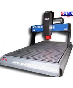 เครื่องแกะสลัก CNC ขนาด 600 x 1,000 x 200 mm  รุ่น SCR-H182M .