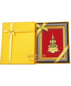 กรอบรูปพระแก้วมรกต +กล่องสีเหลือง