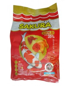 SAKURA GOLD 1 kg. เม็ด M