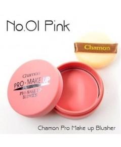 ปัดแก้มเนื้อแมท CHAMON PRO-MAKE UP เบอร์ 1 สีชมพูนู๊ด W.50 รหัส BO44