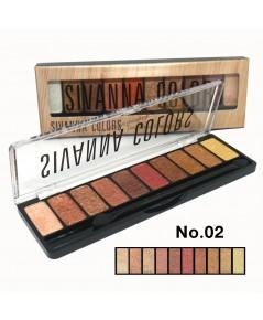 Sivanna Colors Luxury Velvet Eyeshadow HF697 No.02 ราคาส่งถูกๆ W.75 รหัส ES392