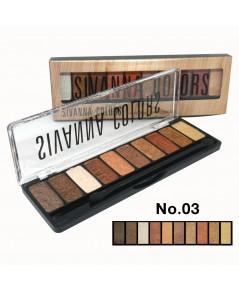 Sivanna Colors Luxury Velvet Eyeshadow HF697 No.03 ราคาส่งถูกๆ W.75 รหัส ES393