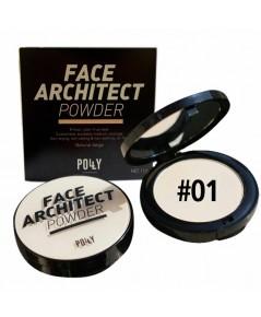 แป้งผสมคอลลาเจน Polly Charming Face Architect powder dist by SIVANNA No.01 W.105 รหัส MP18