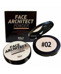 แป้งผสมคอลลาเจน Polly Charming Face Architect powder dist by SIVANNA No.02 W.105 รหัส MP19