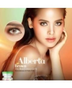 บิ๊กอาย ค่าสายตา Alberta Brown (-2.50) ของ Pretty Doll  พร้อมตลับฟรี หนัก 40g.รหัส PT340