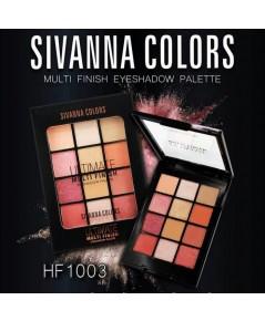 Sivanna colors Multi Finish eyeshadow Palette HF1003 No.4 ราคาส่งถูกๆ w.95 รหัส ES15