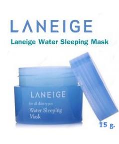 LANEIGE Water Sleeping Mask 15ml (ขนาดทดลอง)  ของแท้จากช็อป W.45 รหัส TM893