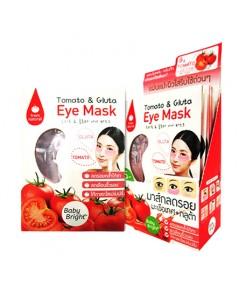 Tomato  Gluta Eye Mask Baby Bright มาร์กลดรอยมะเขือเทศ+กลูต้า ราคาส่งถูกๆ W.120 รหัส KM212