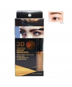 Nee Cara 3D TINTED BROW MASCARA N558 มาสคาร่าคิ้ว No.04 ราคาส่งถูกๆ W.50 รหัส MM23