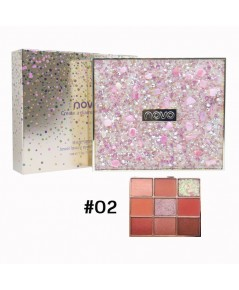 Novo Create a diamond shine No.02 ราคาส่งถูกๆ W.160 รหัส ES532-2