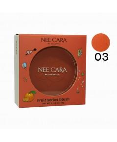 NEE CARA FRUIT SERIES BLUSH No.03 ราคาส่งถูกๆ w.60 รหัส BO447