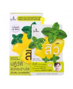 เจลแต้มรอยสิว Gardino Lemon Mint Anti-Acne Serum เจลแต้มรอยสิว เลม่อน มินต์ W.25 รหัส S44-2