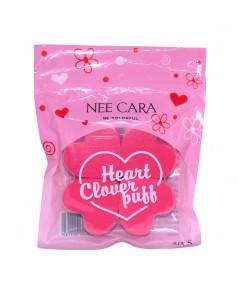 Nee Cara Animal Puff Heart CloverPuff N206 ราคาส่งถูกๆ W.50 รหัส EM268-3