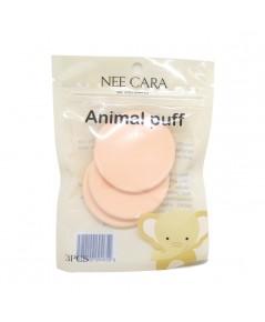 Nee Cara Animal Puff N202 พัฟฟองน้ำ สุดคิวท์คอลเลคชั่นล่าสุด ราคาส่งถูกๆ W.50 รหัส EM268-2
