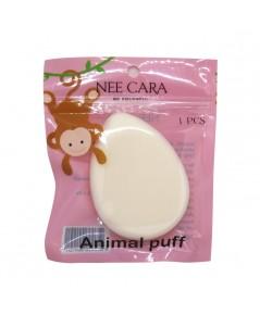 Nee Cara Animal Puff N204 พัฟฟองน้ำ สุดคิวท์คอลเลคชั่นล่าสุด ราคาส่งถูกๆ W.50 รหัส EM268-1