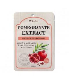 Pomegranate Extract Peptide  Glutathione Mask Sheet ราคาส่งถูกๆ W.45 รหัส FM68-3