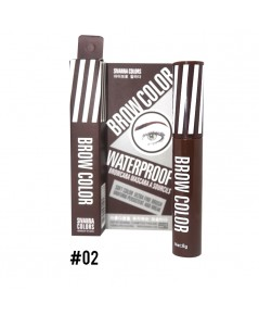 Brow Color Waterproof Browcara Mascar A Sourcils NO.02 ราคาส่งถูกๆ W.30 รหัส K207