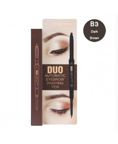 Sivanna Colors Automatic Eyebrow Duo Painting Pen B3 Dark Brown ราคาส่งถูกๆ W.40 รหัส K1-3