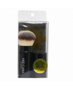 Nee Cara Retractable Powder Brush ( Black )ราคาส่งถูกๆ W.70 รหัส EM423-1