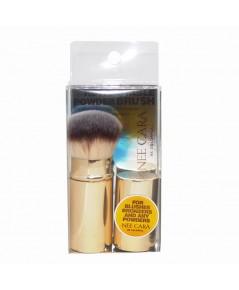 Nee Cara Retractable Powder Brush (Golden) ราคาส่งถูกๆ W.70 รหัส EM423-2