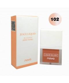 novo juice liquid blusher บลัชออนเนื้อครีม No.102 ราคาส่งถูกๆ W.50 รหัส BO101-2