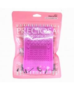 Preciosa พรีโคซ่า ซิลิโคนล้างแปรง Silicone ทำความสะอาด ที่ล้างแปรง ราคาส่งถูกๆ W.100 รหัส EM386