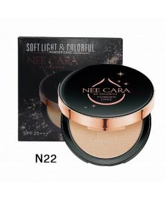 Nee Cara Soft  Colorful Powder Cake N22 ราคาส่งถูกๆ w.85 รหัส MP291-22