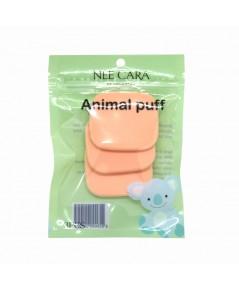 Nee Cara Animal Puff N203 พัฟฟองน้ำ สุดคิวท์คอลเลคชั่นล่าสุดราคาส่งถูกๆ W.50 รหัส EM333