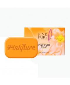 PINK PURE SOAP สบู่พิงค์เพียว สบู่หน้าใส สลายฝ้า สารสกัดจากน้ำมันมะพร้าว ราคาส่งถูกๆ W.130 รหัส FC18