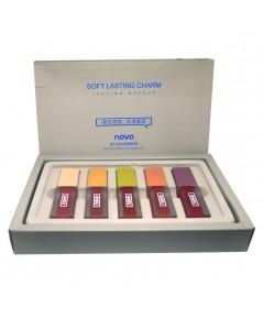 novo Morandi velvet lip glaze set ราคาส่งถูกๆ W.225 รหัส L800